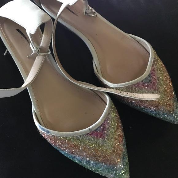 488f45daa J. Crew Shoes - Size 7 J Crew Blue Green  Pink Flat